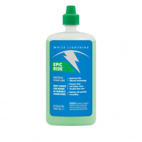 Lubricante White Lightning Epic Lube 8oz. All Conditions