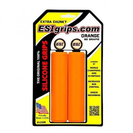 Puños ESI Grips EXTRA CHUNKY Naranjo